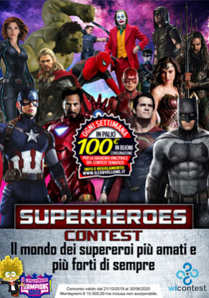SUPERHEROES CONTEST